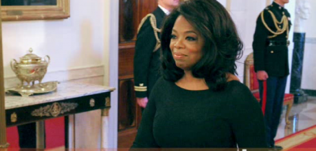 oprah at white house